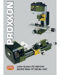 Proxxon CNC Special brochures