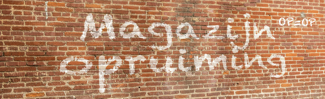 Magazijnopruiming (Brick Photo by ShonEjai from Pexels)