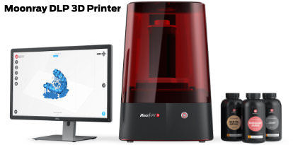 Moonray DLP 3D  Resin printer