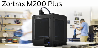 Zortrax M200 Plus 3D Printer Banner